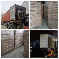 Three hundreds of floor scales loaded into two containers will be shipped to Mexico